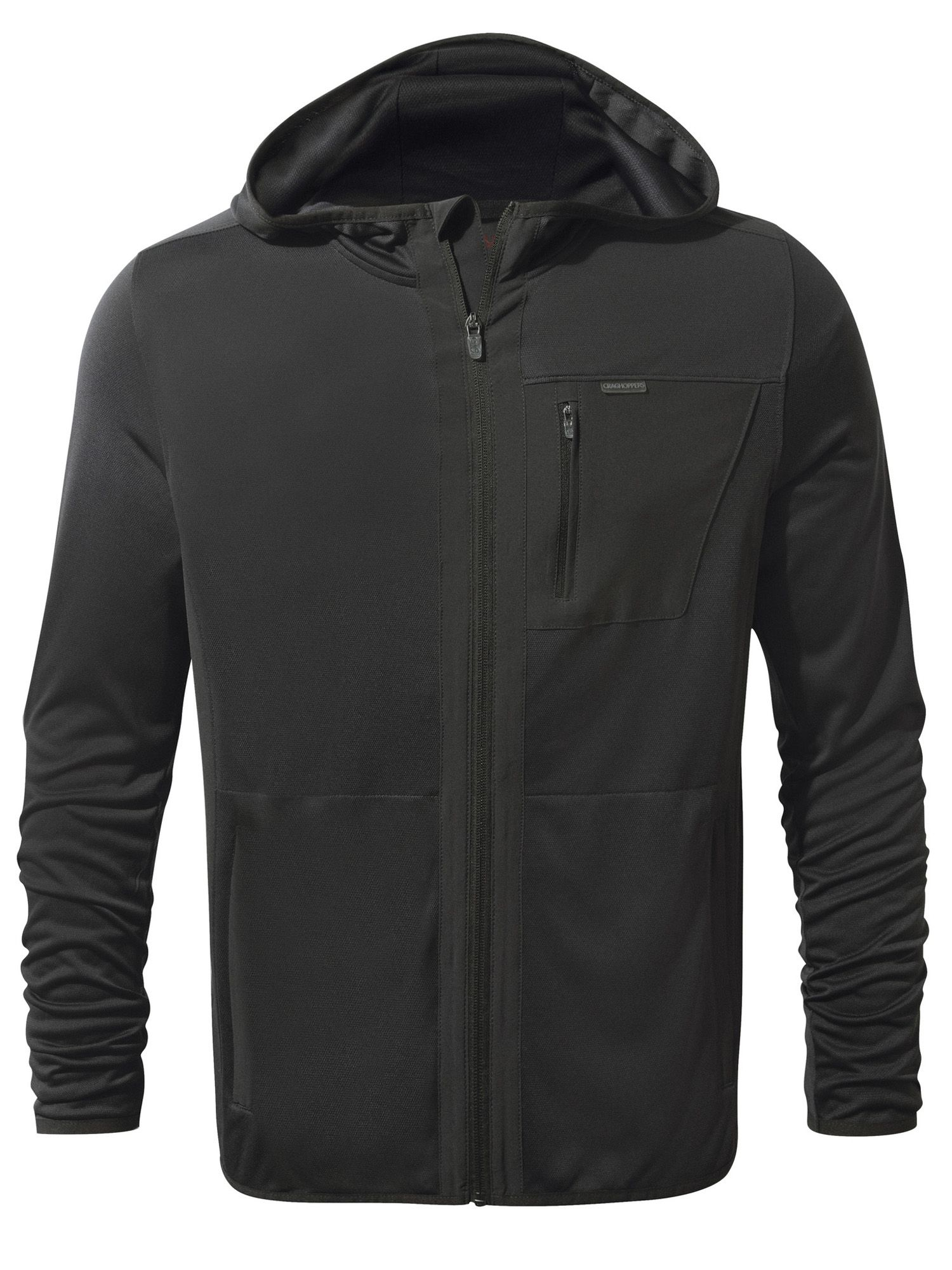 Men's Craghoppers Nosilife Elgin Hooded Jacket, Black