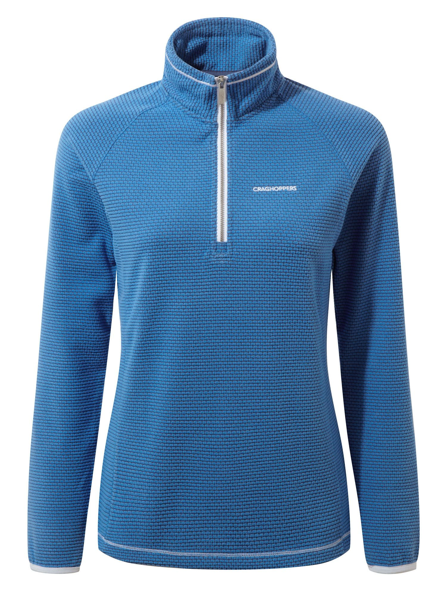 Craghoppers Hazelton Half Zip Fleece, Blue