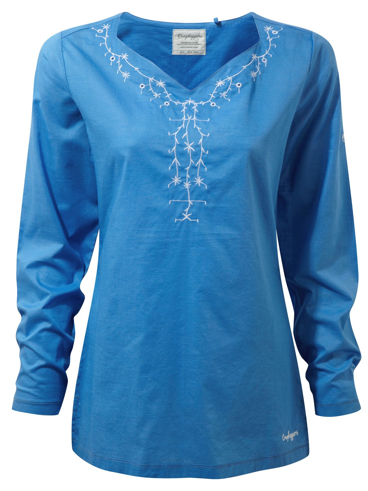 Craghoppers Rayna Long Sleeved Lightweight Top, Blue