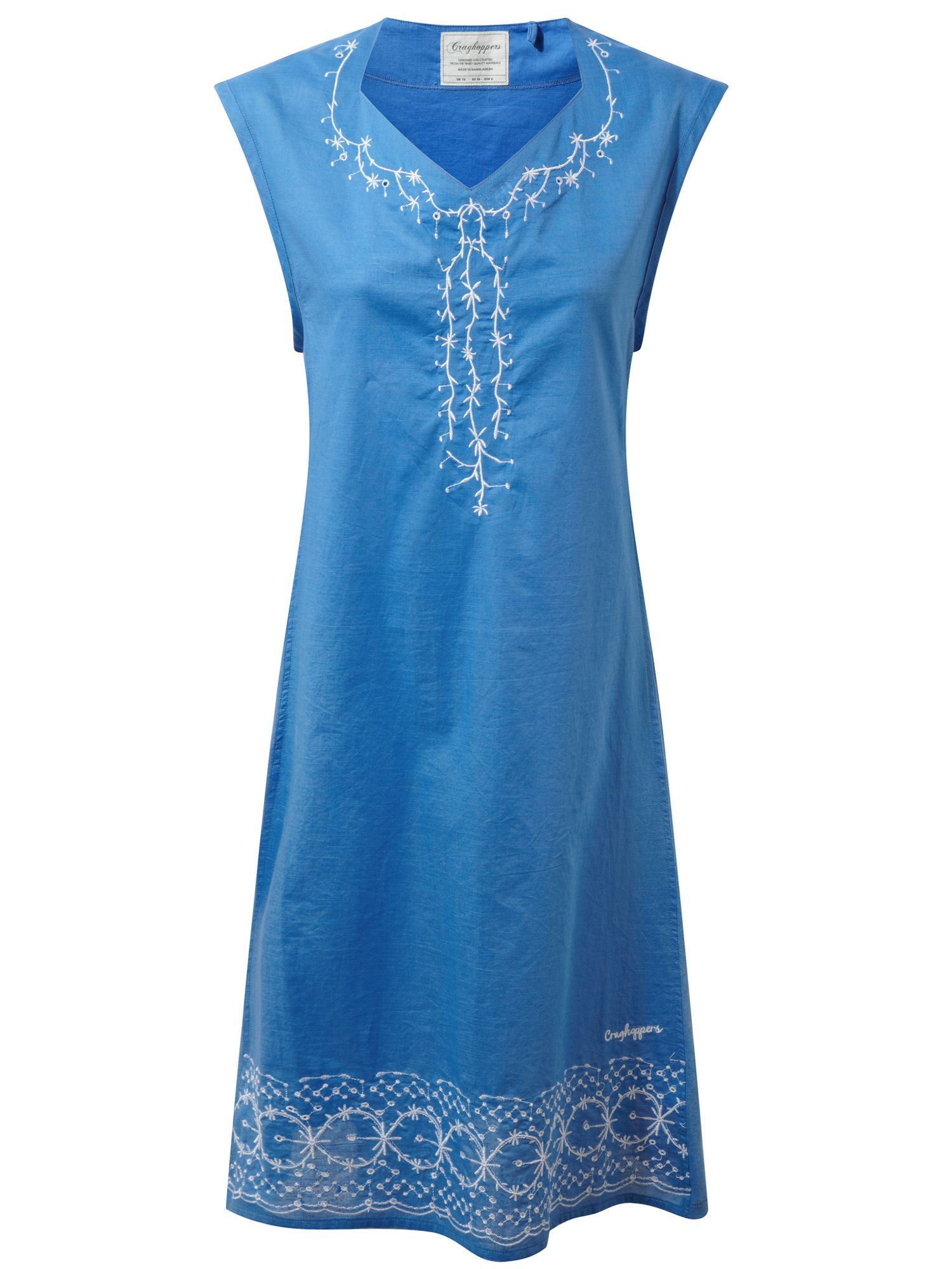 Craghoppers Scarlett Sleeveless Dress, Blue