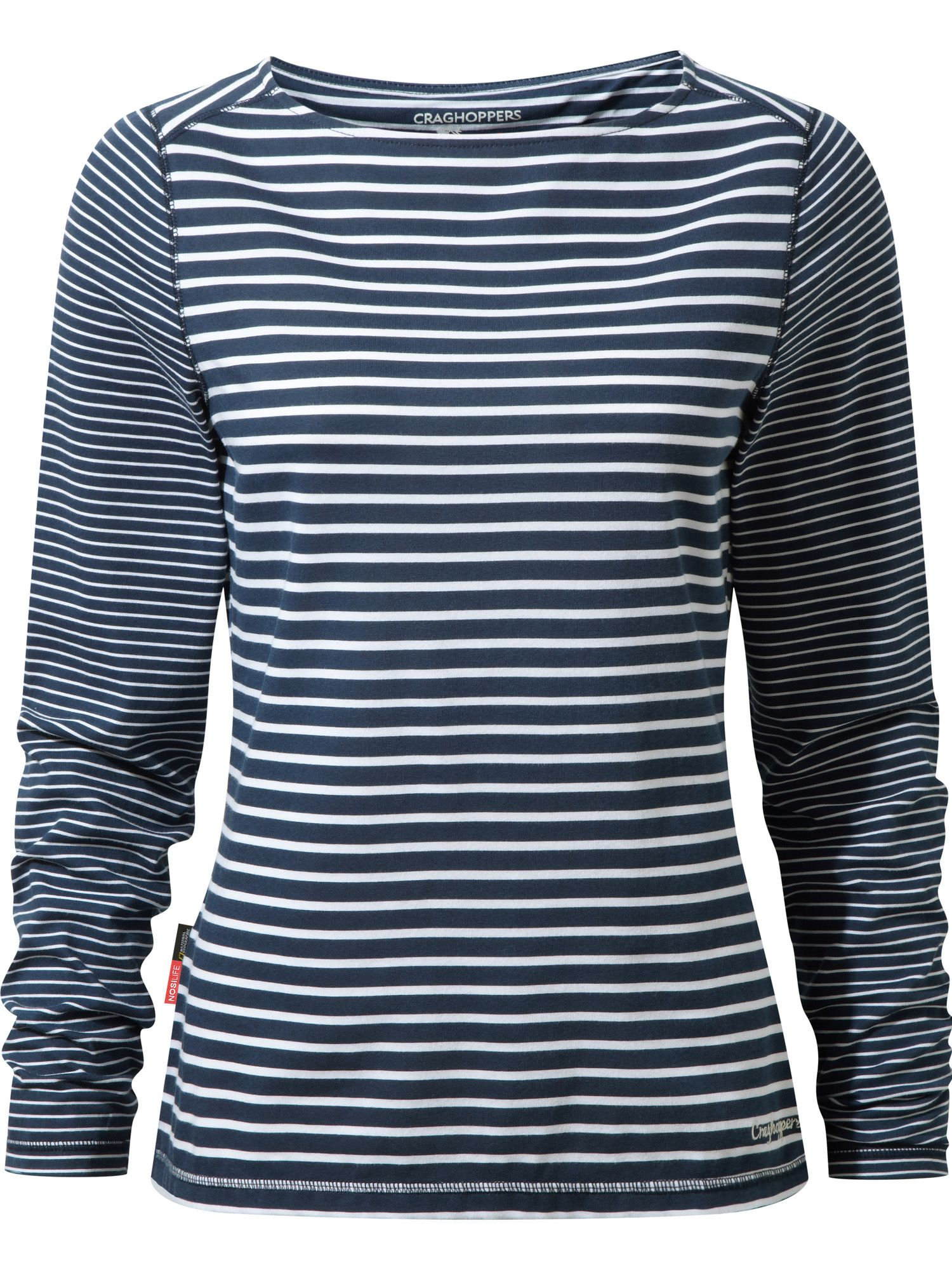 Craghoppers NosiLife Erin Long Sleeved Top, Blue