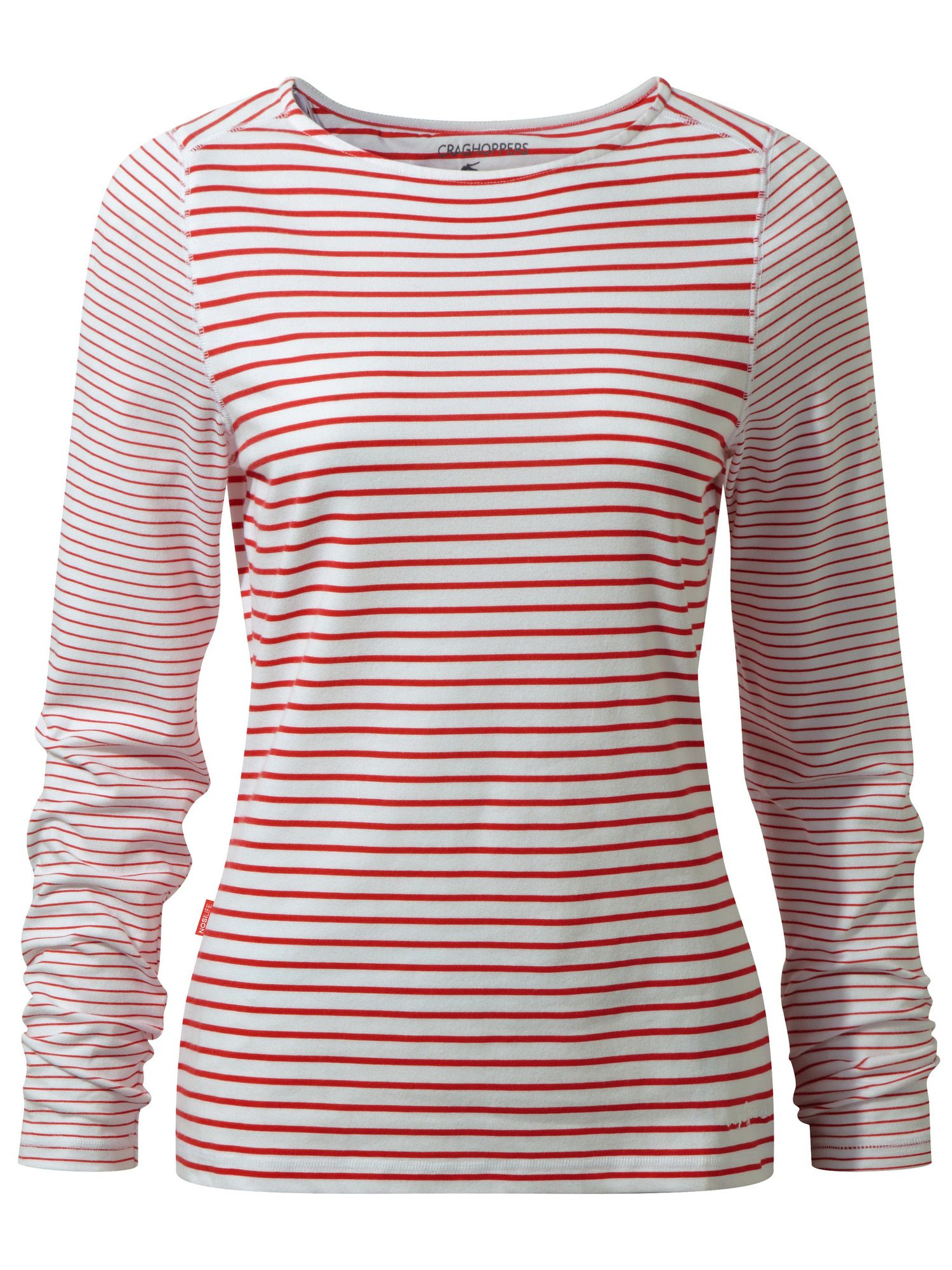 Craghoppers NosiLife Erin Long Sleeved Top, Red