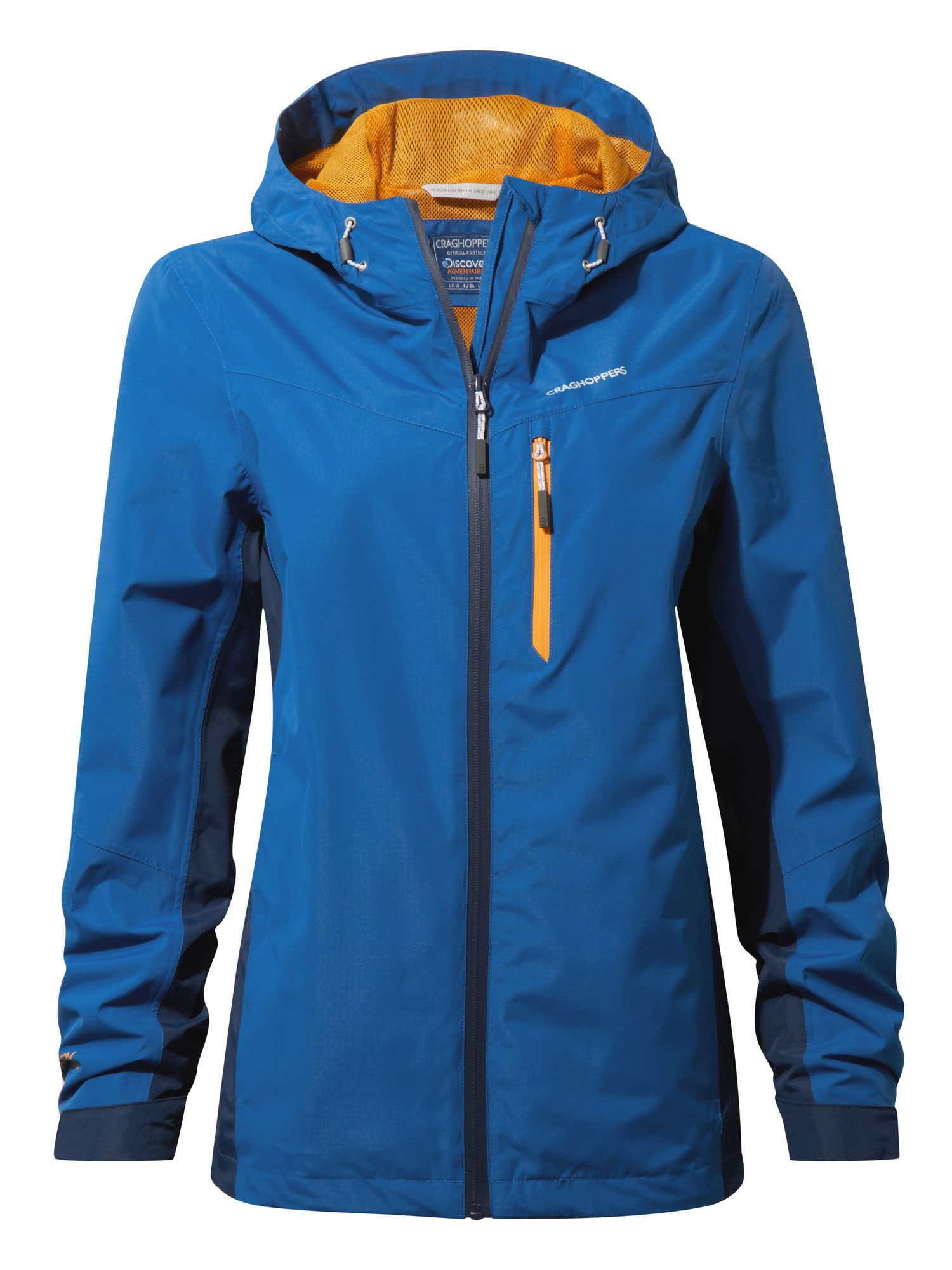 Craghoppers Discovery Waterproof Shell Jacket, Blue