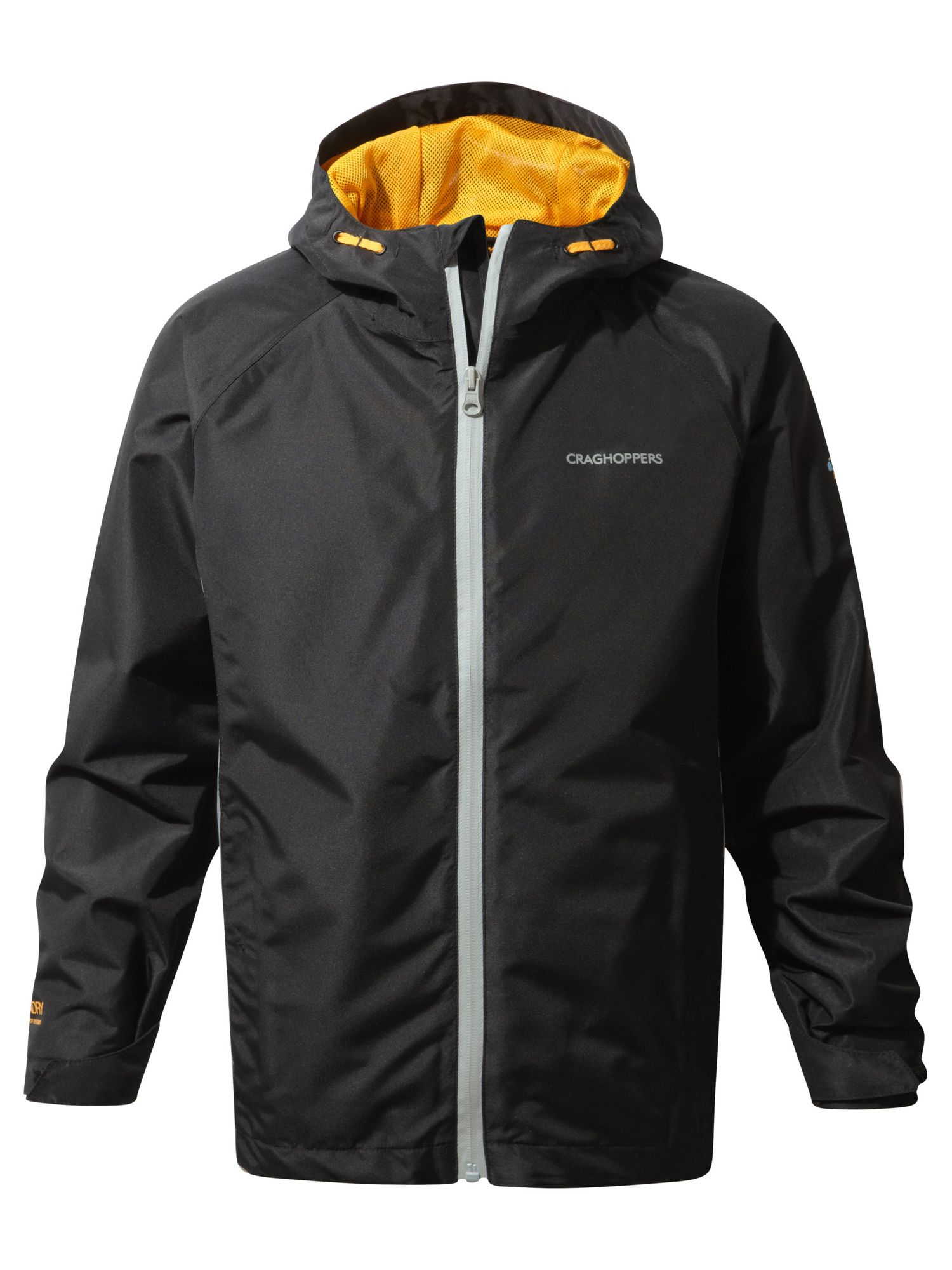 Photo of Craghoppers kids discovery waterproof jacket- black