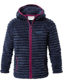Craghoppers Kids Farley Hooded Fleece Jacket