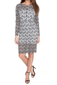 True Decadence Lace Pencil Dress
