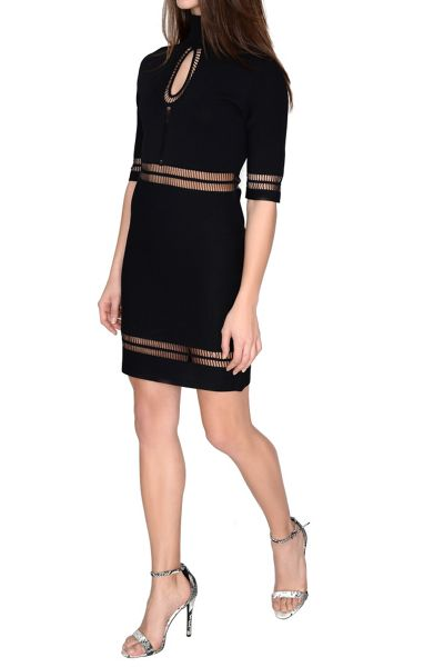 True Decadence Turtleneck Bodycon Dress