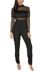 Glamorous Netted Jumpsuit