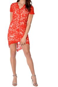 True Decadence Scallop Lace Dress