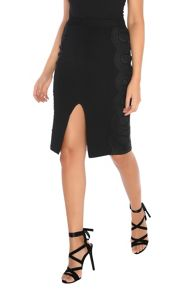 Alice & You Lace Applique Pencil Skirt
