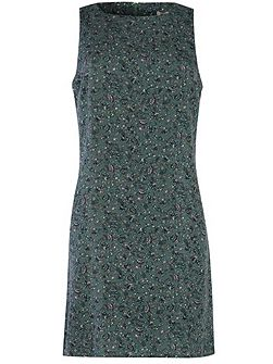 Sequin Sleeveless Shift Dress