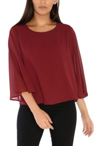 Alice & You Cape Sleeve Top
