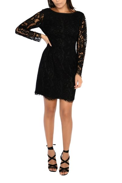 True Decadence Long Sleeve Lace Dress