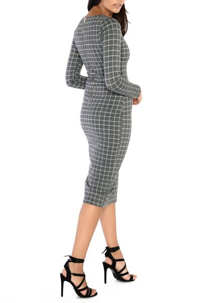 Alice & You Long Sleeve Knitted Dress
