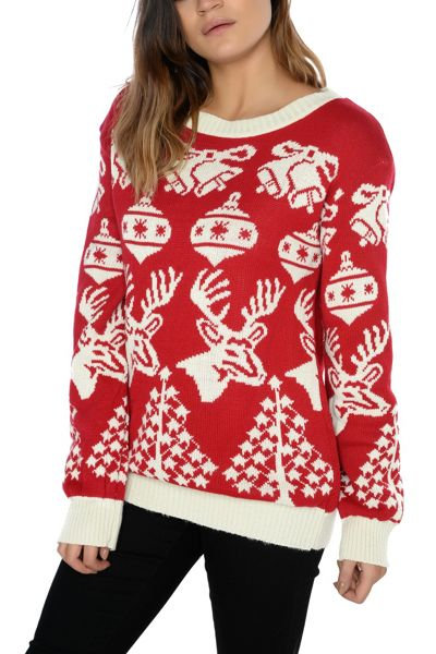 Alice & You Festive Knitted Jumper
