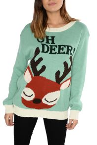 Alice & You Festive Oh Deer Jumper