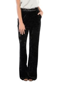 True Decadence Velvet High Waisted Trousers