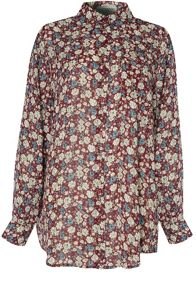 Alice & You Oversized Printed Shirt