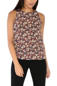 Alice & You Printed Shell Top