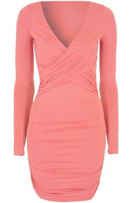 True Decadence Ruched Bodycon Dress