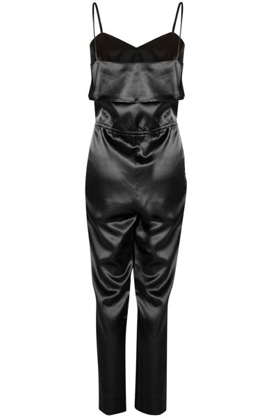 Alice & You Strappy Satin Jumpsuit