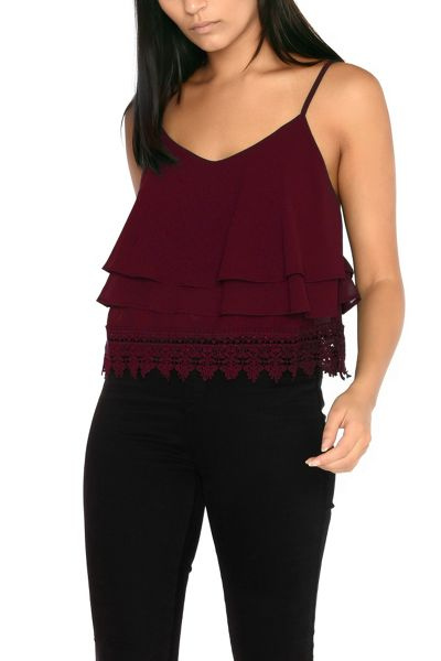 Alice & You Double Layered Camisole Top
