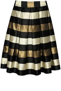 True Decadence Striped Skirt
