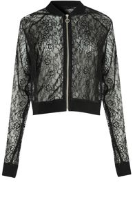 Alice & You Lace Bomber Jacket