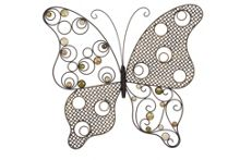 La Hacienda Exotic butterfly wall art