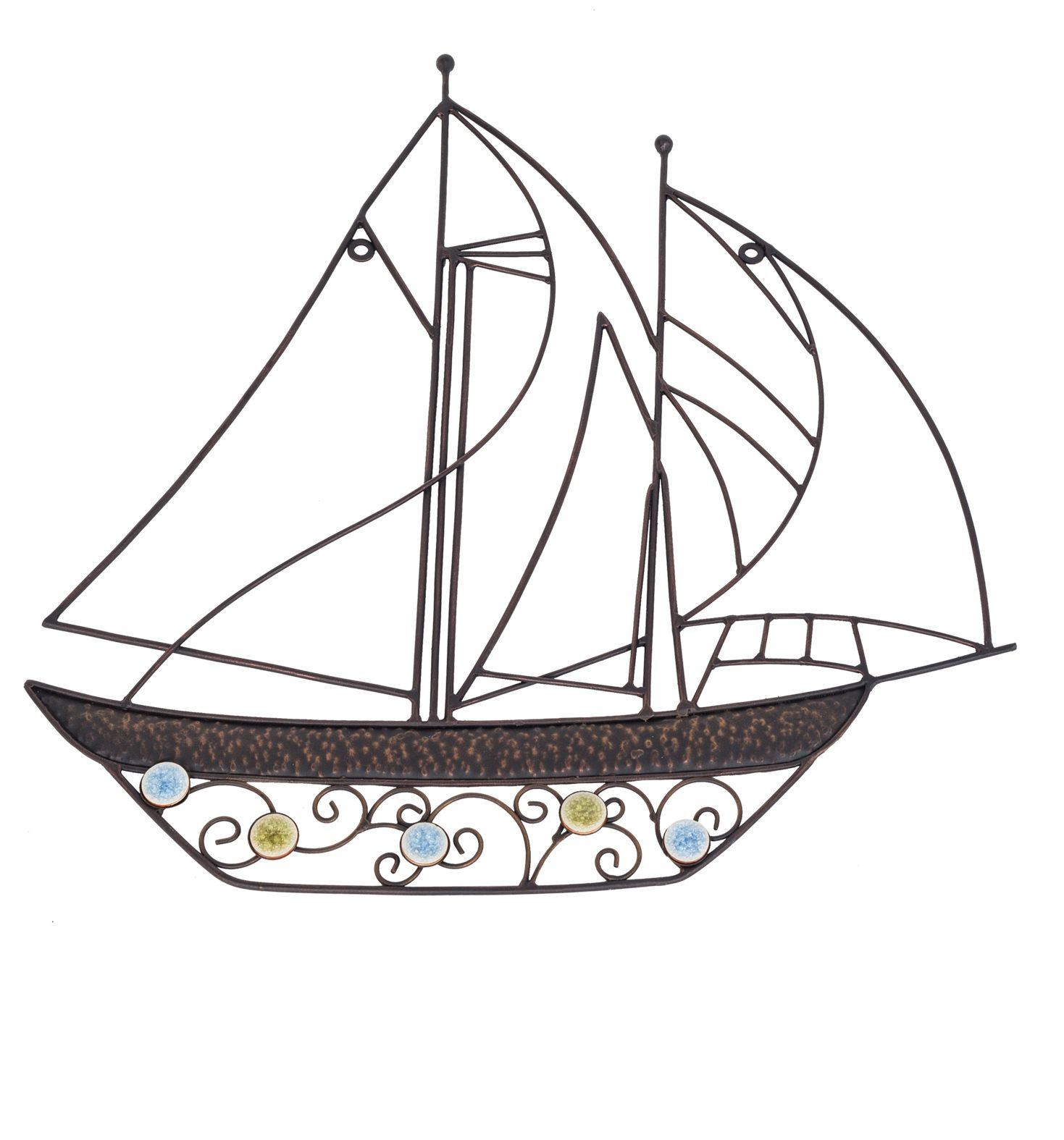 Image of La Hacienda Billowing sails wall art