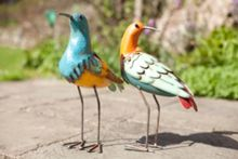 Wading birds ornament - set of two