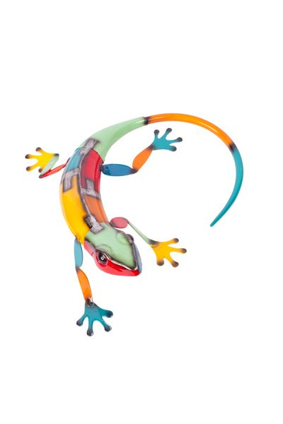 La Hacienda Curled lizard ornament
