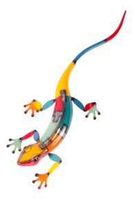La Hacienda Long lizard ornament