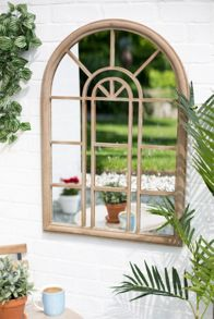 La Hacienda Rounded arch mirror