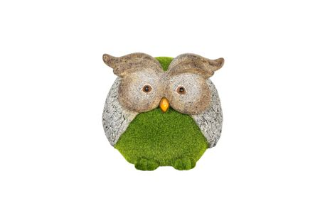 La Hacienda Flocked owl ornament