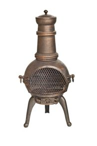 La Hacienda Sierra Medium Cast Iron Chimenea