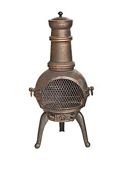 Sierra Medium Cast Iron Chimenea