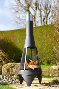 La Hacienda Extra large mesh contemporary chimenea