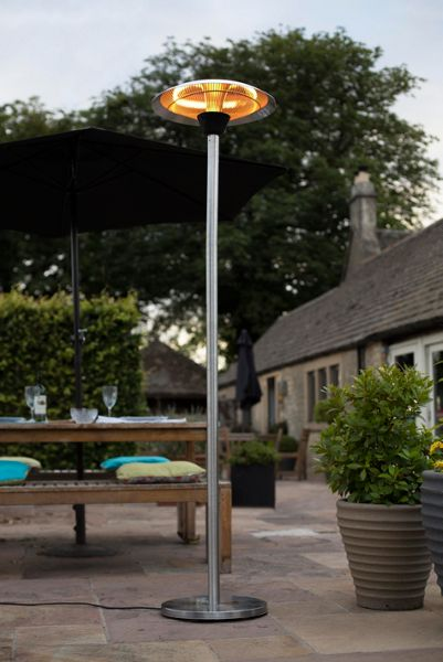 La Hacienda Standing Patio Heater