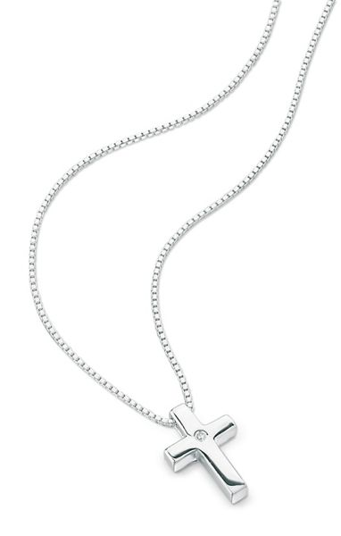 D for Diamond P2412 childrens necklace