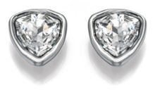 Clear crystal stud earring