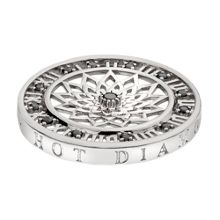 Emozioni 33mm time traveller silver coin