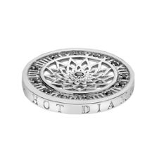 Emozioni 25mm time traveller silver coin