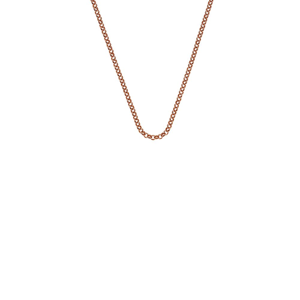 Emozioni Emozioni rose gold silver chain necklace, N/A