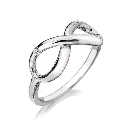 Hot Diamonds Infinity Ring