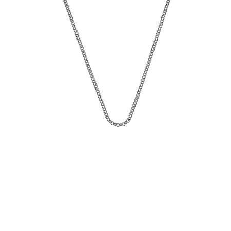 Emozioni silver chain necklace