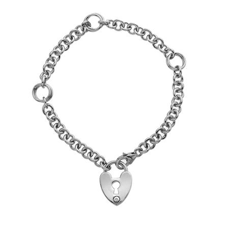 Hot Diamonds Padlock Bracelet
