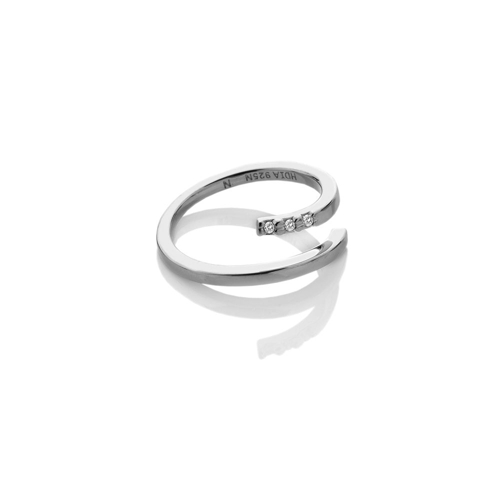 hot diamonds silver ring