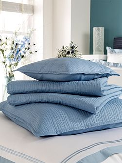 Vibe pillow sham china blue