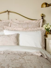Figaro square pillowcase champagne